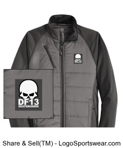 DF13 Winter Jacket Subdued Design Zoom